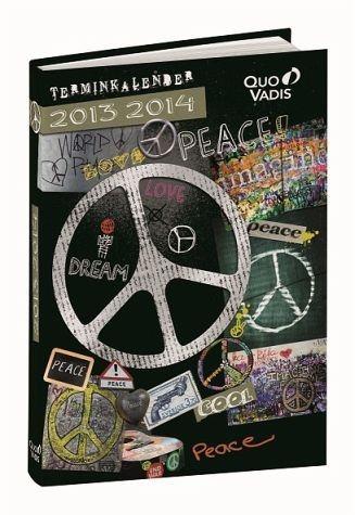Gebundenes Buch »Love & Peace, Schülerkalender 2016/2017«