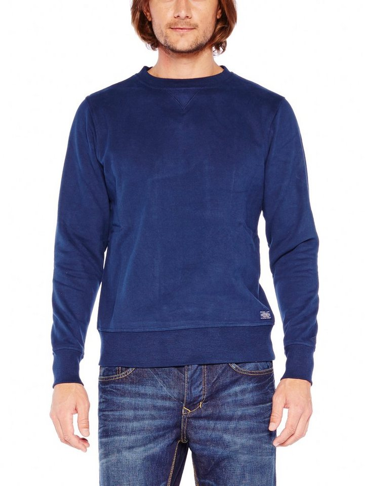 COLORADO DENIM Sweatshirt »Richard« in navy