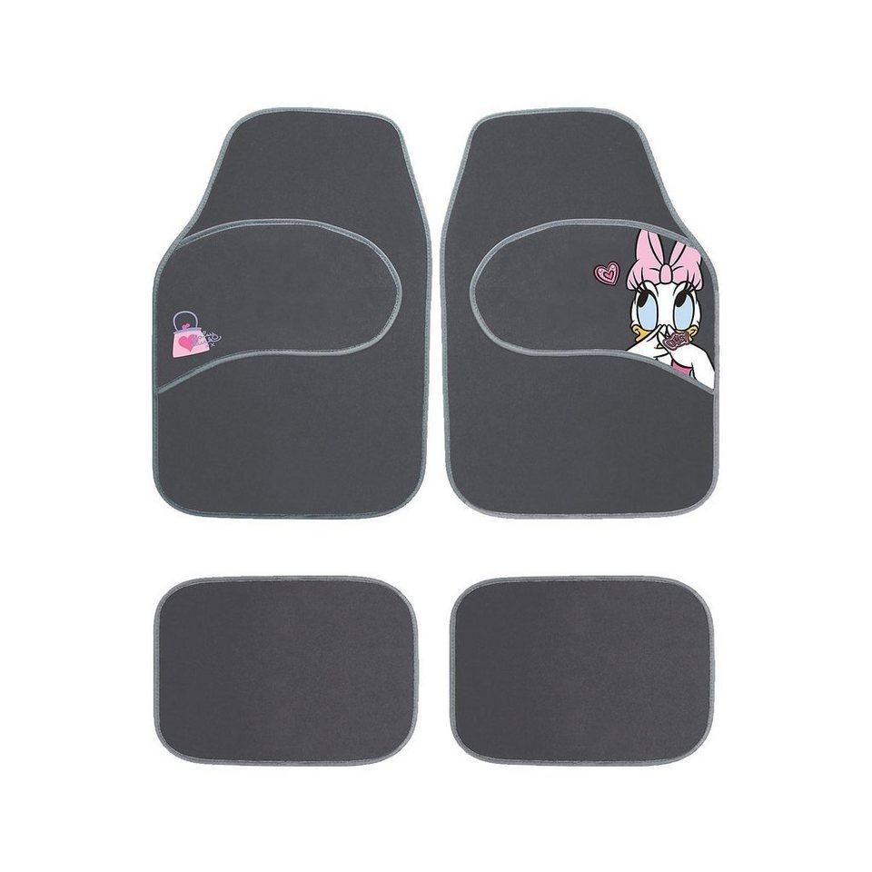 ProType Auto-Fußmatten-Set, Daisy, 4-tlg. in schwarz