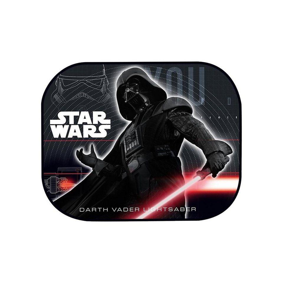 ProType Sonnenschutz für die Seitenscheibe, Star Wars, 2er Pack in schwarz