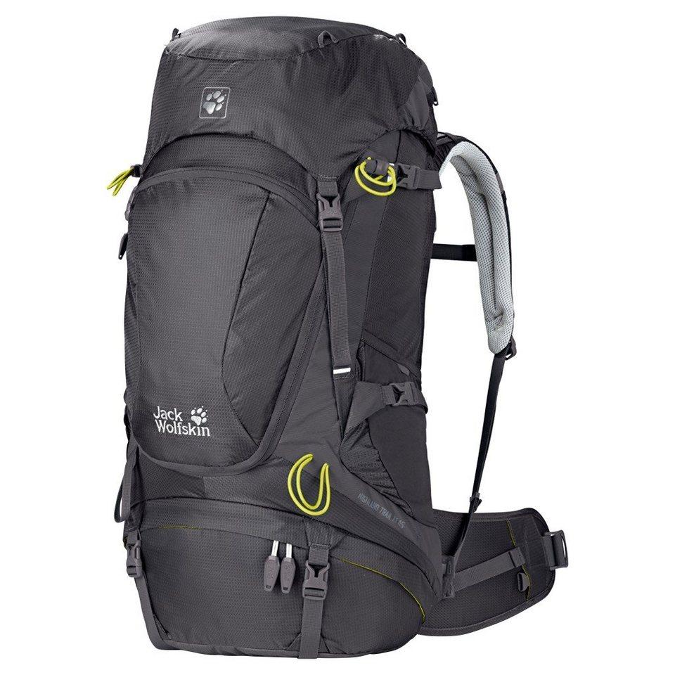 Jack Wolfskin Sport- und Freizeittasche »Highland Trail XT 45 Backpack Women« in grau