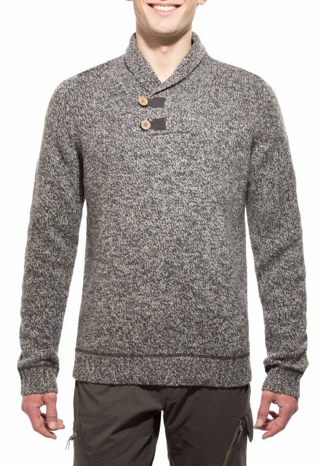 Fjällräven Pullover »Lada Sweater Men« in grau