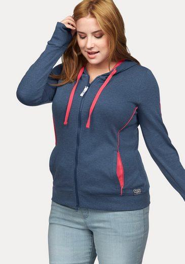 Kangaroos Hooded Sweat Jacket With Contrasting Details
