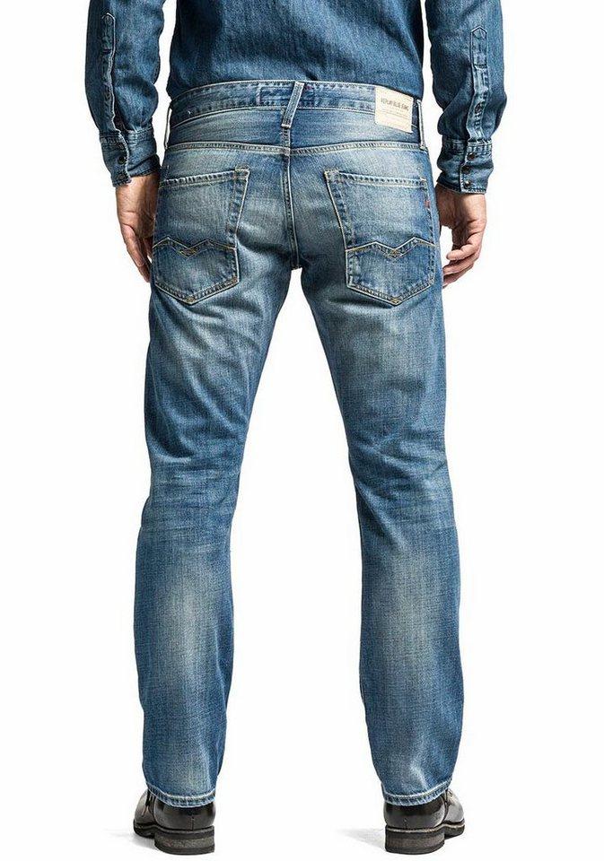 Replay 5-Pocket-Jeans »Waitom« in medium-blue