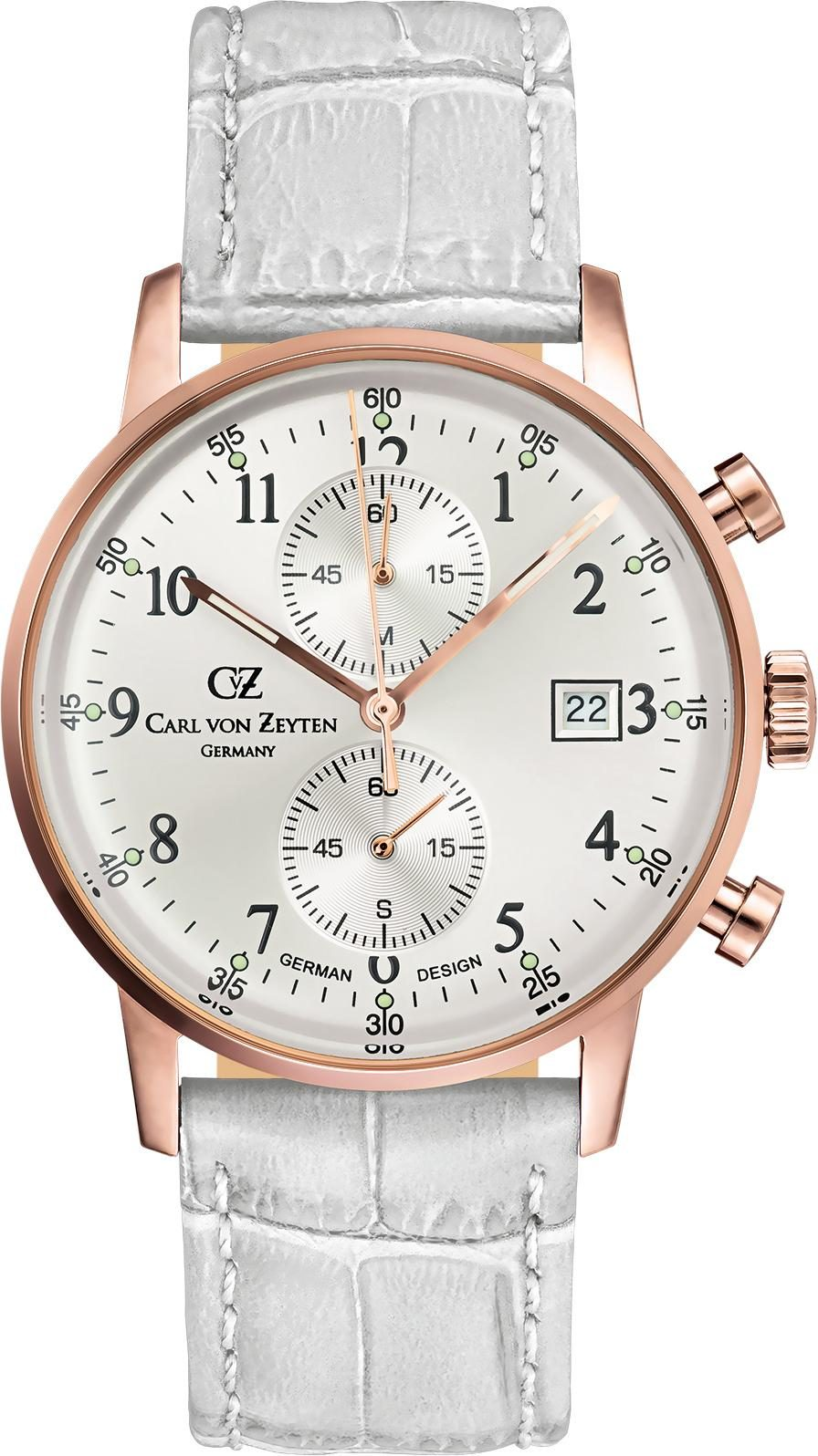 Carl von Zeyten Chronograph »Todtnau CVZ0012RSL«