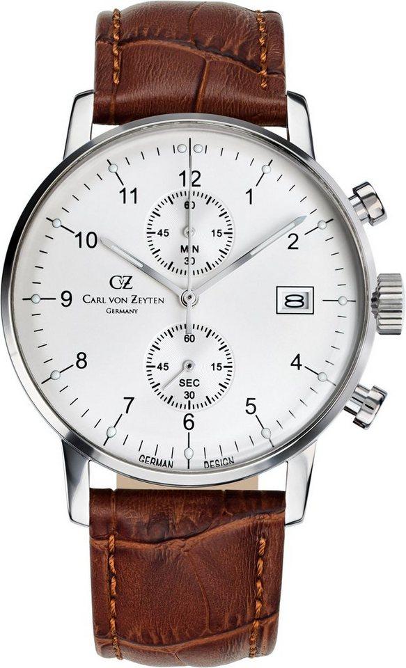 Carl von Zeyten Chronograph »Eisenbach CVZ0007WH« in braun