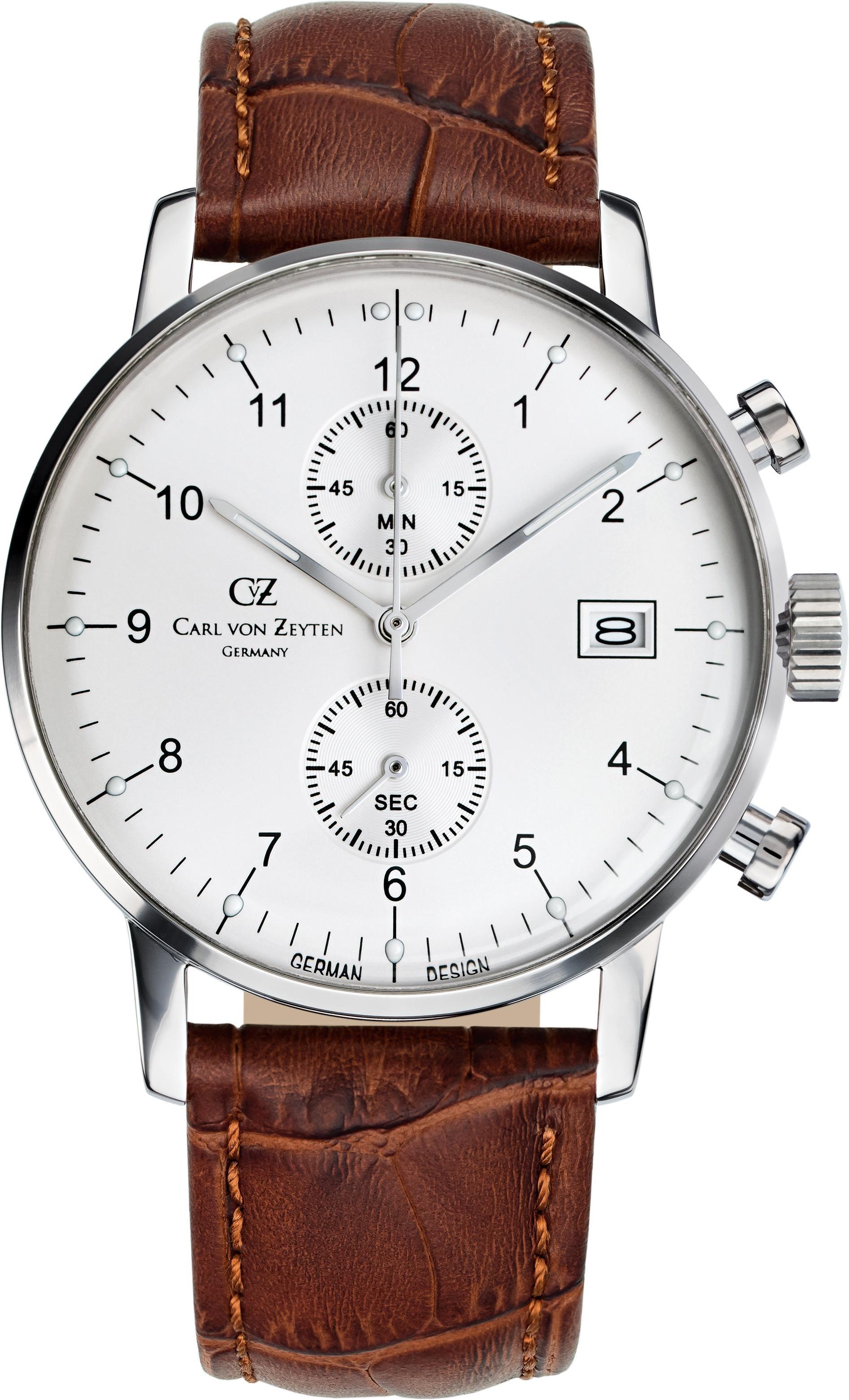 Carl von Zeyten Chronograph »Eisenbach CVZ0007WH«