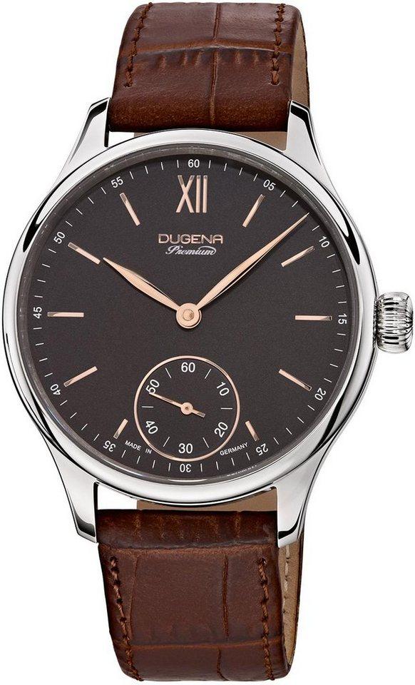 DUGENA PREMIUM Mechanische Uhr »Epsilon 10 7000117« Made in Germany in braun