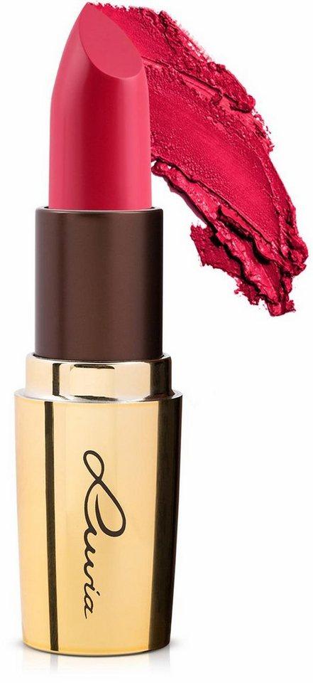 Luvia Cosmetics, »Luxurious Colors«, Veganer Lippenstift mit hoher Deckkraft in Wild Passion