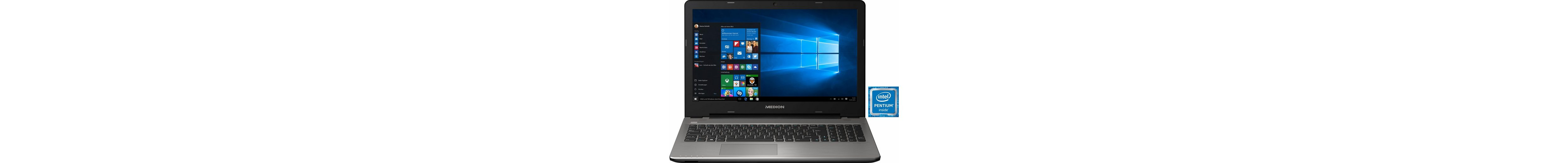 Medion® Akoya E6421 Notebook, Intel® Pentium™, 39,6 cm (15,6 Zoll), 1128 GB Speicher, 8192 MB DDR3L