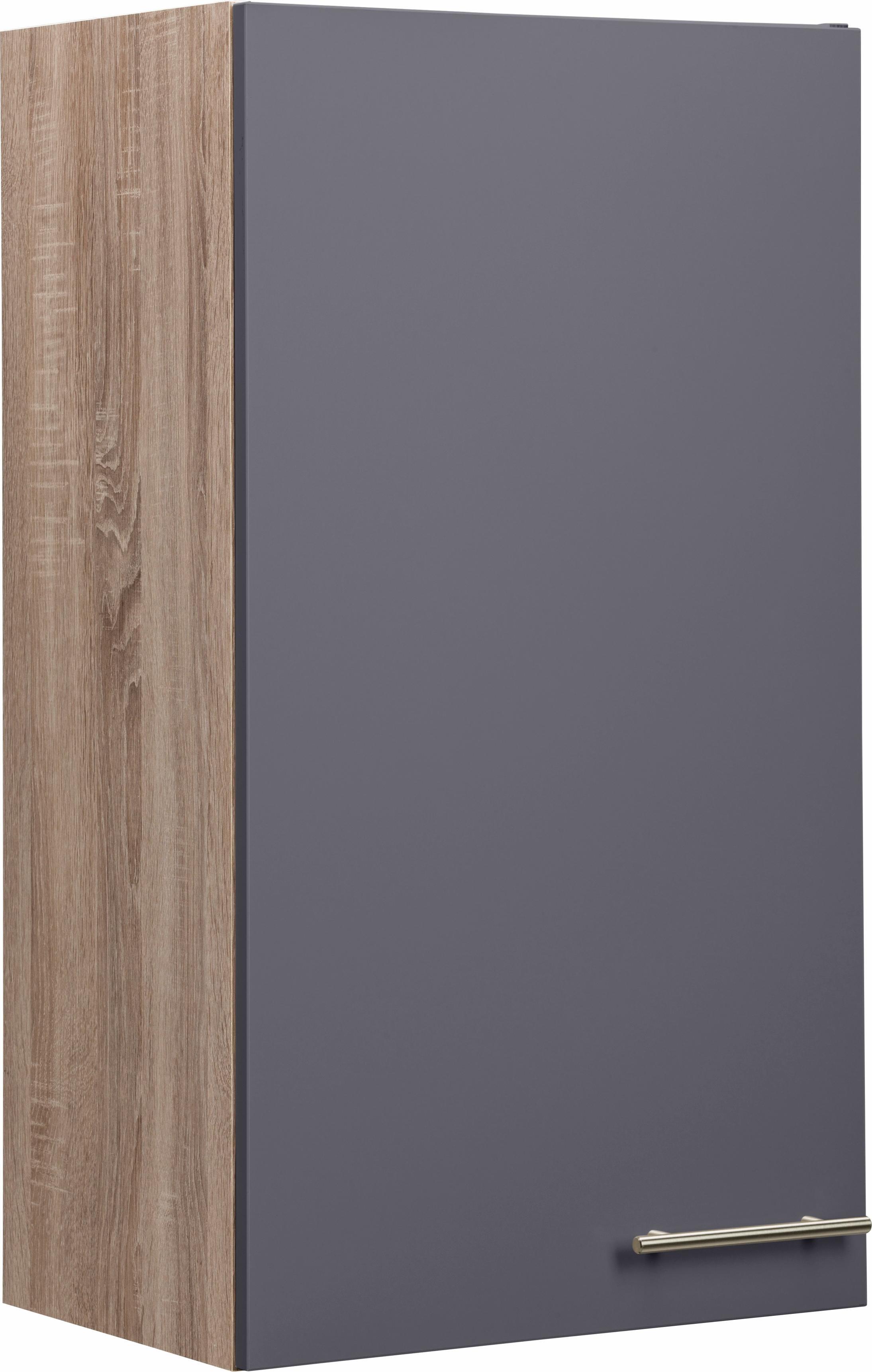 OPTIFIT Hängeschrank »Korfu«, Breite 50 cm | Wohnzimmer > Schränke > Weitere Schränke | Creme - Sand | Eiche - Edelstahl - Melamin | OPTIFIT