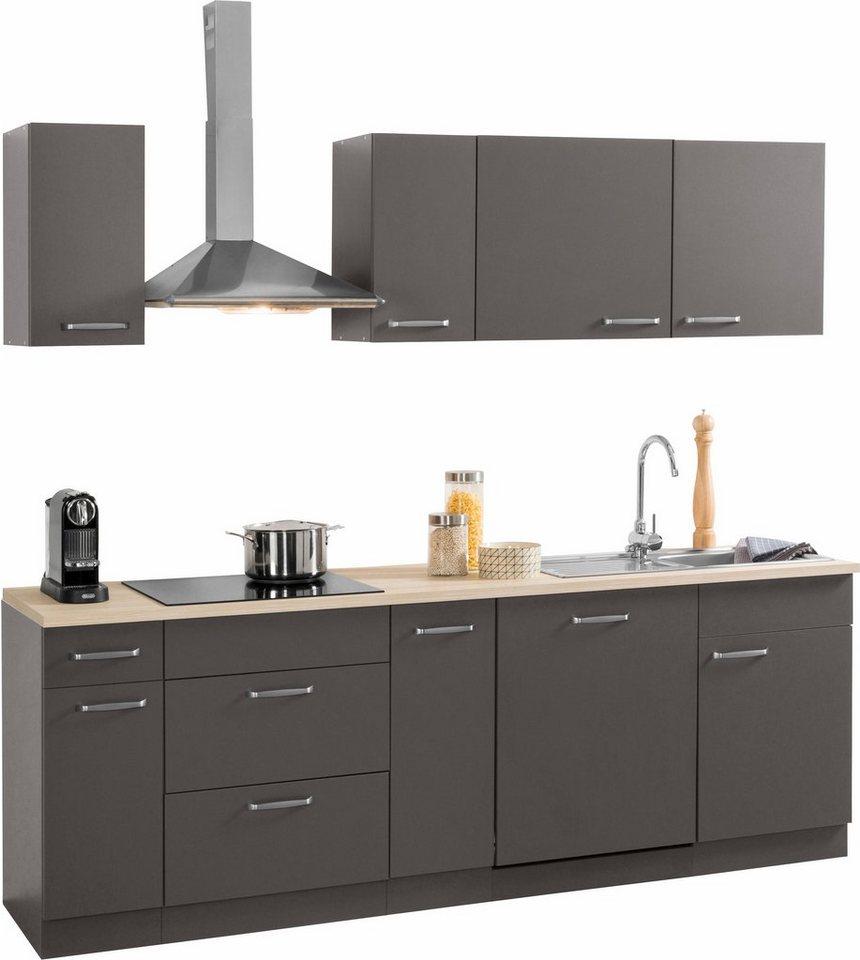 kchenzeile 230 cm simple awesome kchenzeile mit cm wohnkultur kche kchenzeile mit online. Black Bedroom Furniture Sets. Home Design Ideas
