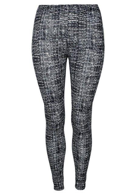 Hosen - Boysen's Leggings mit Alloverdruck › grau  - Onlineshop OTTO