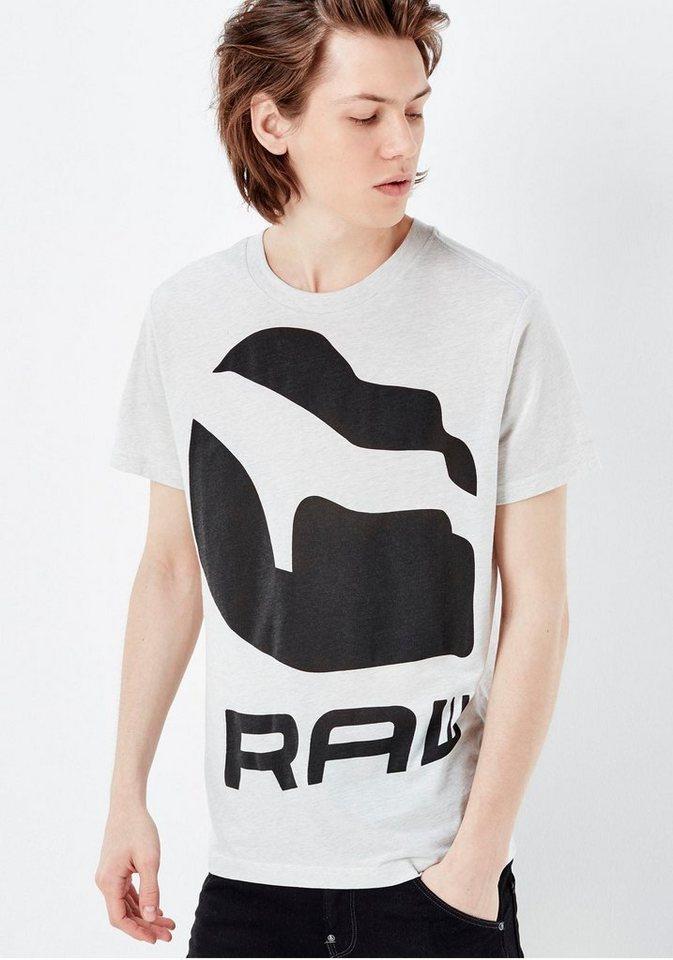 G-Star T-Shirt »Forceq« in weiß
