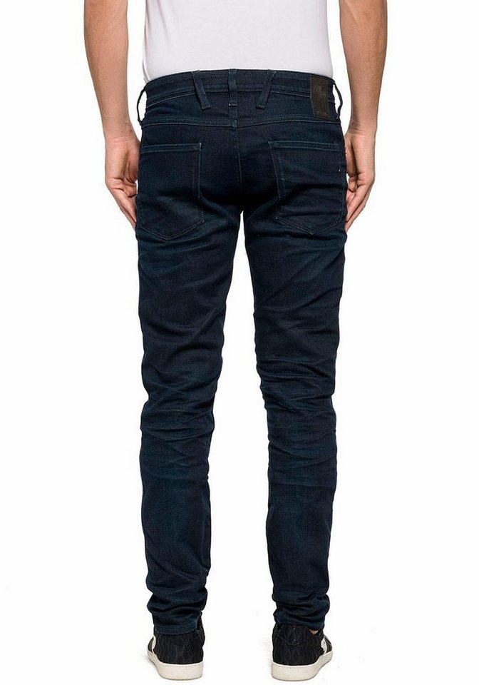 Replay Slim-fit-Jeans »Anbass« in dark-blue