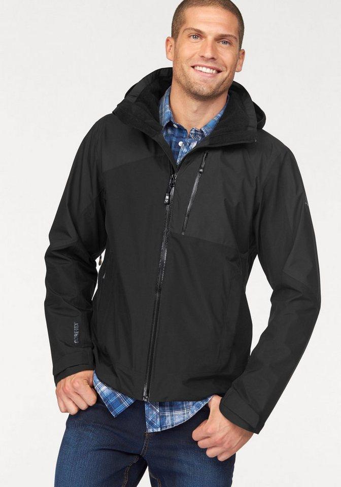 Schöffel Regenjacke »GTX PADOVA« mit Gore-Tex® Materialien in schwarz