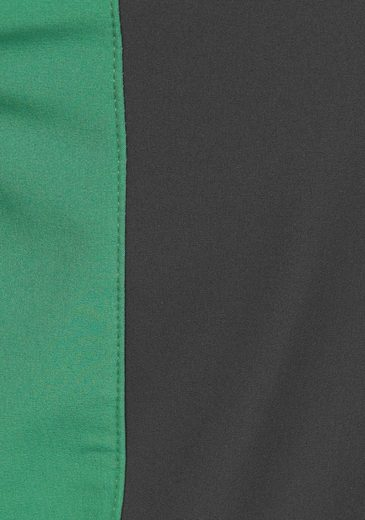 Polarino Softshelljacke, wasserabweisend ausgerüstetes Material