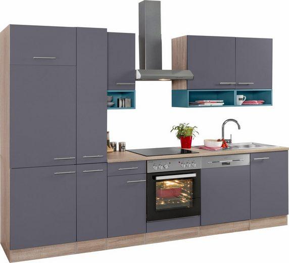 OPTIFIT Küchenzeile »Korfu«, ohne E-Geräte, Breite 300 cm