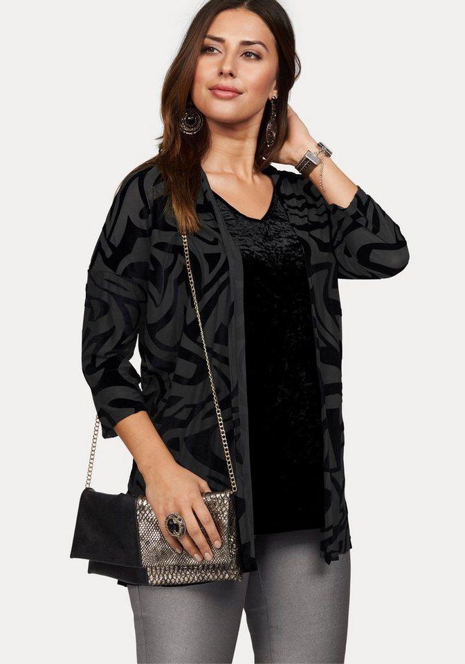 Ciso Shirtjacke in schwarz