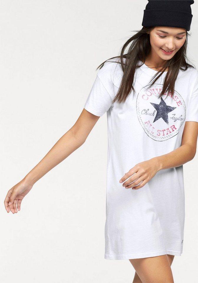 Converse Shirtkleid in weiß