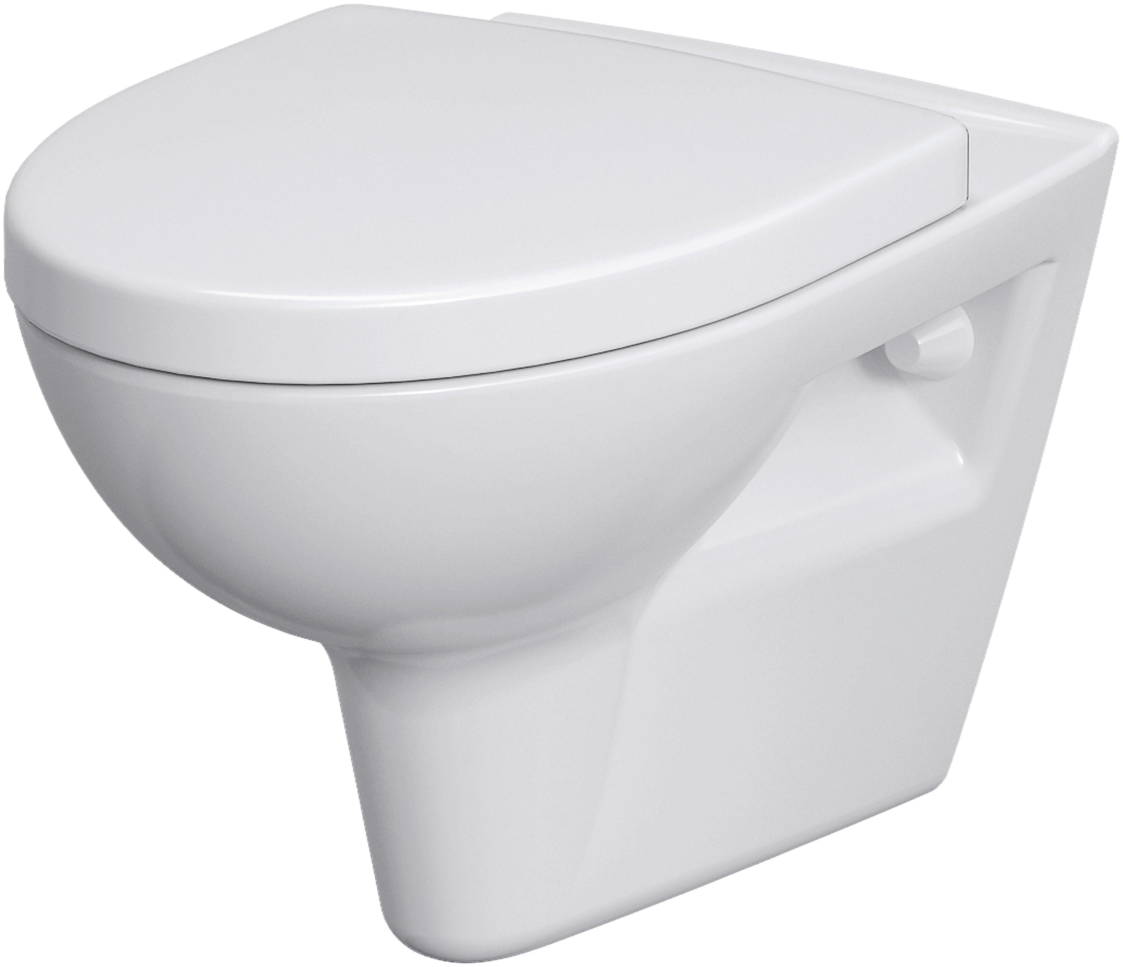 Komplett-Set: Wand WC »Montego spülrandlos«