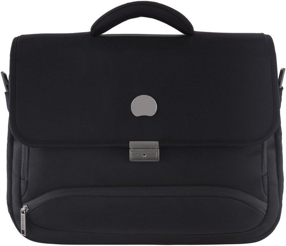 DELSEY Businesstasche mit Laptopfach, »Montmartre Pro« in schwarz