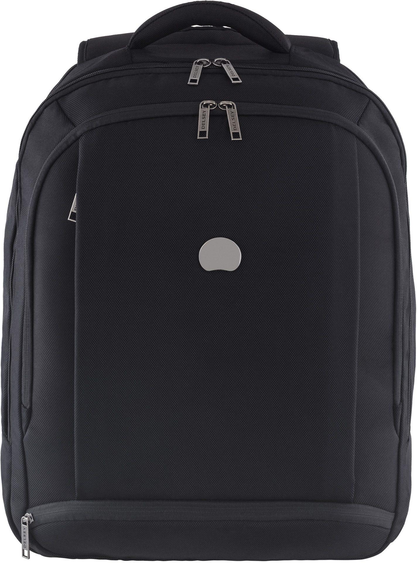 DELSEY Rucksack mit gepolstertem Laptopfach und Volumenerweiterung, »Montmartre Pro - L«