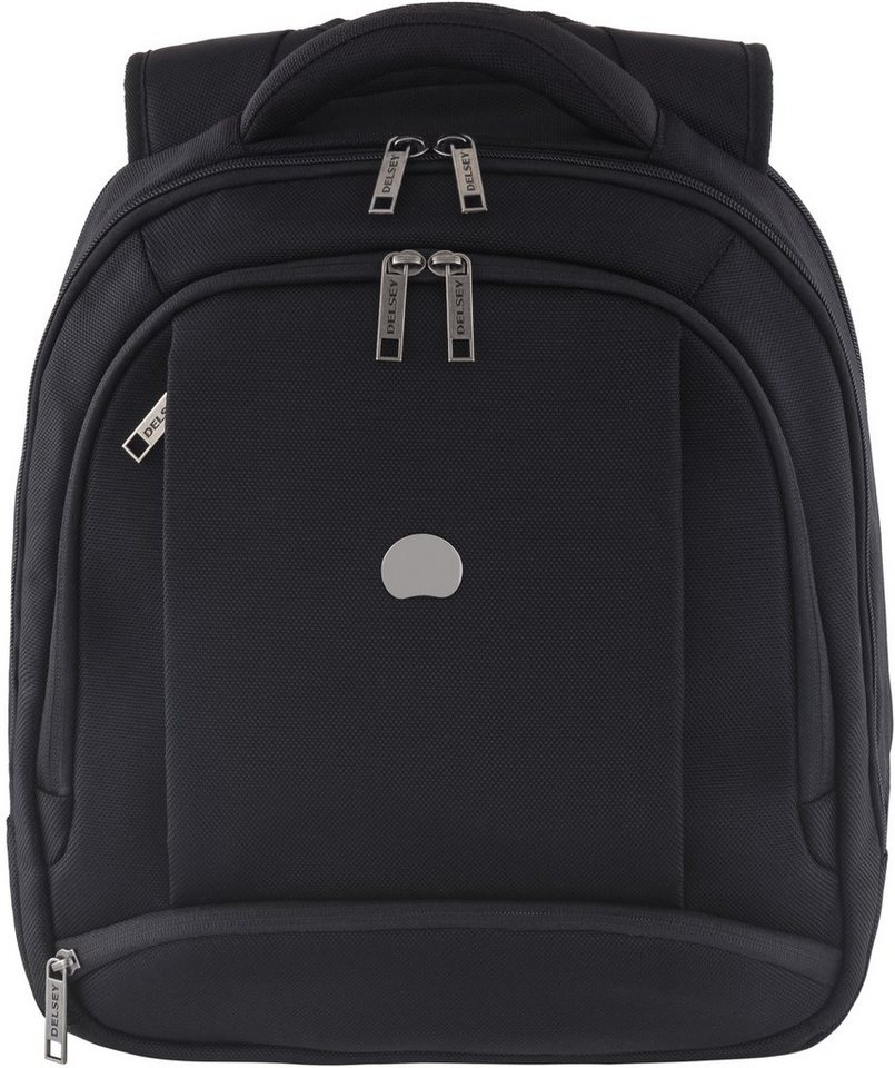 DELSEY Rucksack mit gepolstertem Tabletfach, »Montmartre Pro - S« in schwarz