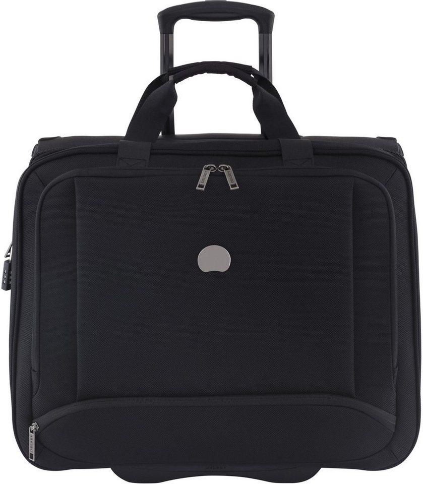 DELSEY Businesstrolley mit 17,3 Zoll Laptopfach und 2 Rollen, »Montmartre Pro - M« in schwarz