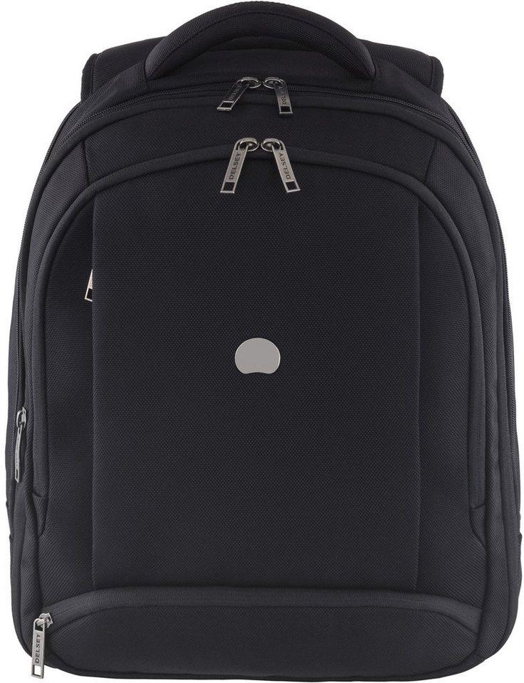 DELSEY Rucksack mit gepolstertem Tabletfach, »Montmartre Pro - M« in schwarz