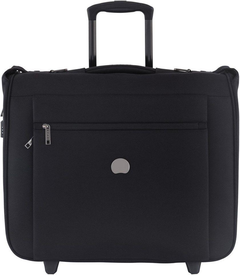 DELSEY Kabinen Kleidersack Trolley mit 2 Rollen, »Montmartre Pro« in schwarz