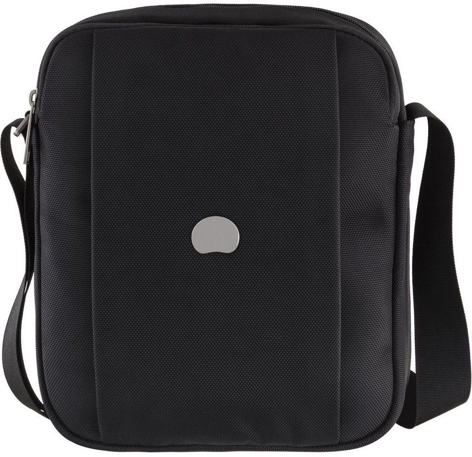 DELSEY Mini Umhängetasche mit Tabletfach, »Montmartre Pro« in schwarz
