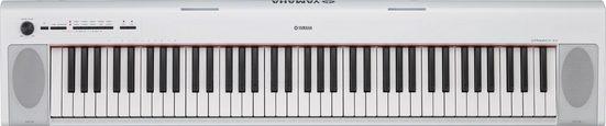 Yamaha Digitalpiano »NP-32WH«, mit der kostenlosen App »Digital Piano Controller«