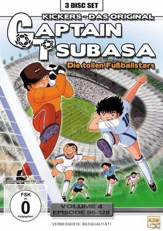 DVD »Captain Tsubasa - Die tollen Fußballstars - Box 4«
