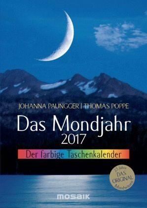 Kalender »Das Mondjahr 2017. Der farbige Taschenkalender«