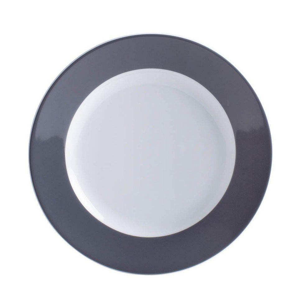 Kahla Frühstücksteller »Pronto Colore« in Anthrazitgrau
