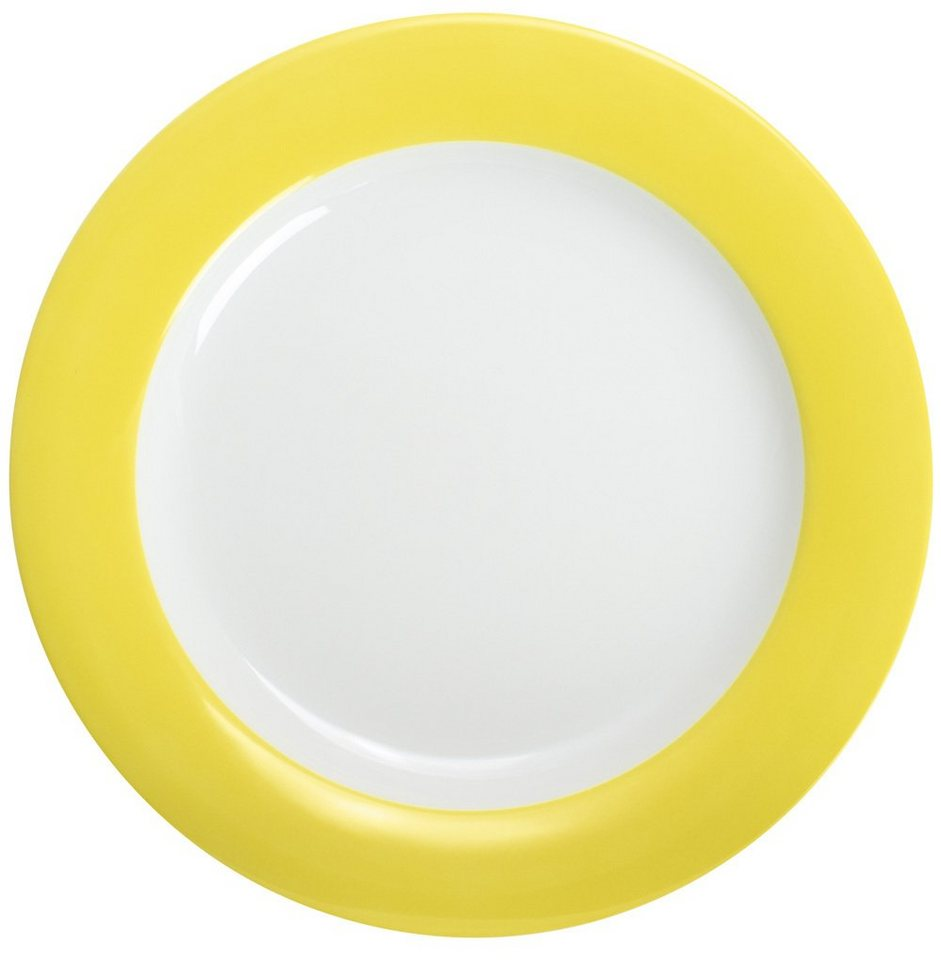 Kahla Speiseteller »Pronto Colore« in Zitronengelb