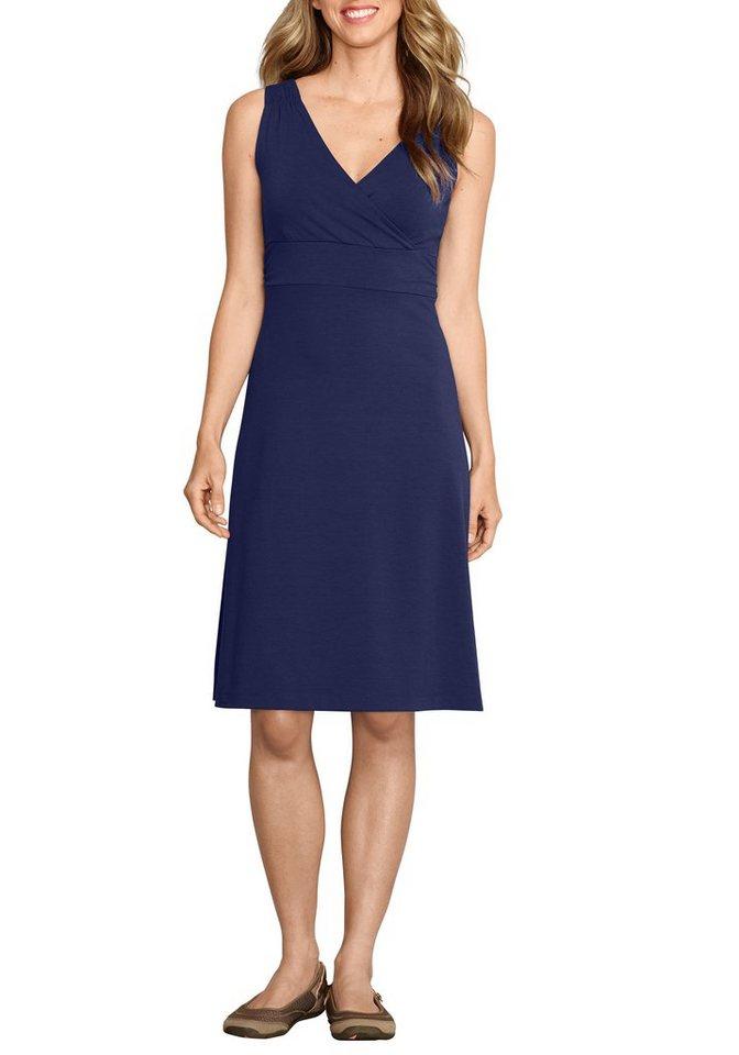 Eddie Bauer Travex® Kleid kniebedeckend in Indigo