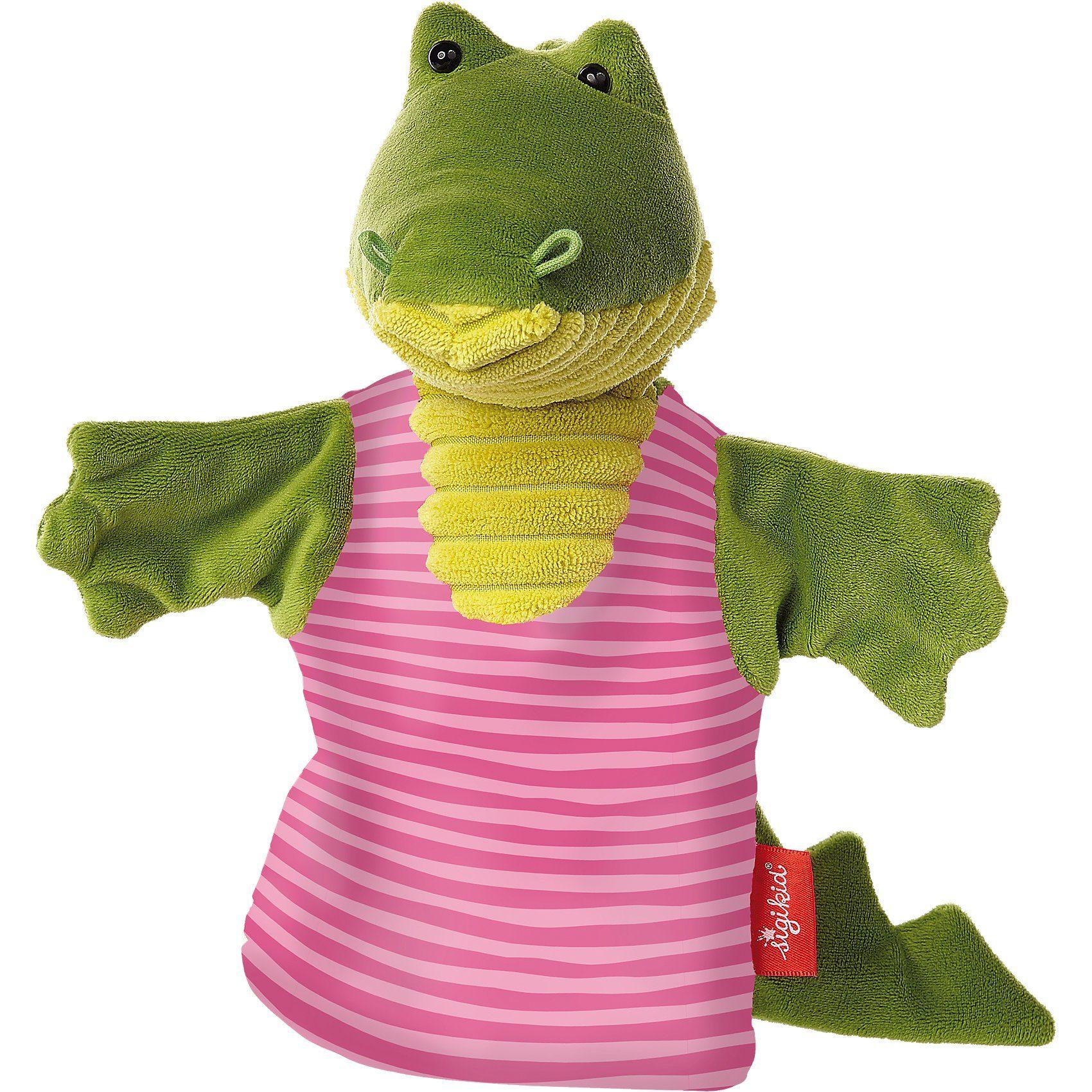 sigikid Handpuppe Krokodil, Sweety, 26cm (41330)