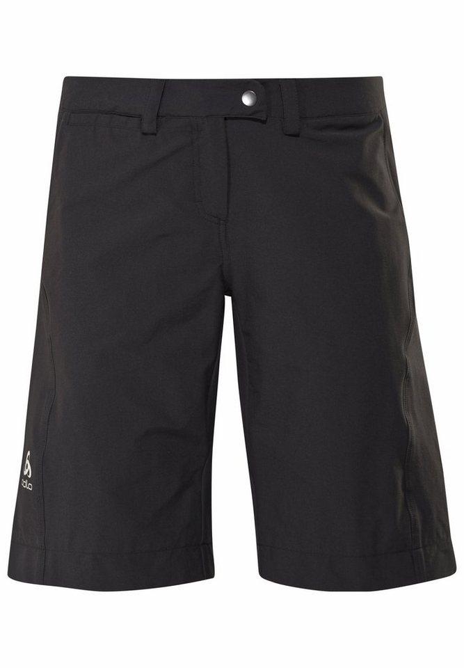 Odlo Radhose »PRAGEL Shorts Women« in schwarz