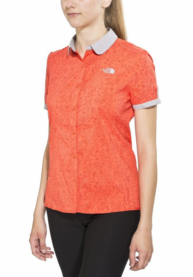 The North Face T-Shirt »Alicia S/S Shirt Women« in orange