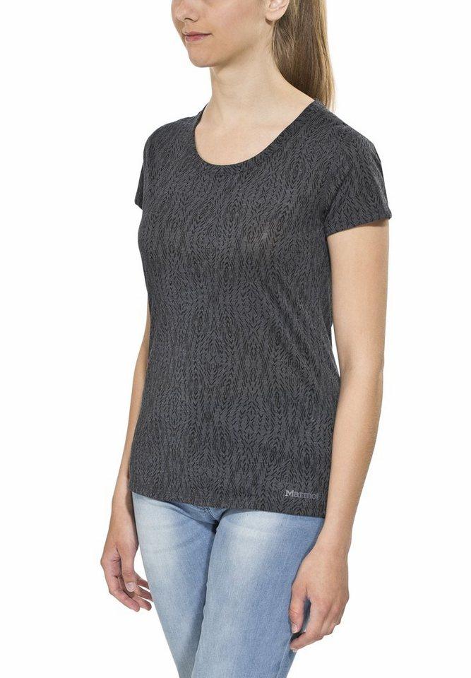Marmot T-Shirt »Nina SS Women« in grau