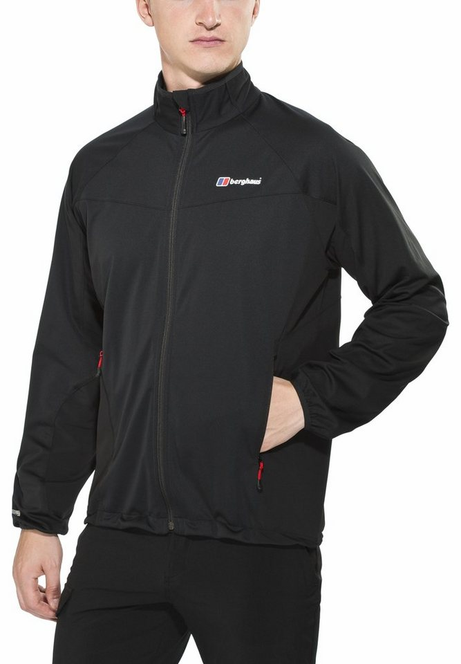 Berghaus Softshelljacke »Cadence Softshell Jacket Men« in schwarz
