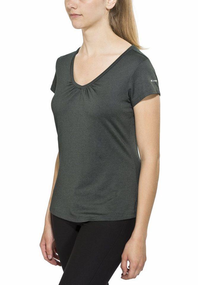Columbia T-Shirt »Shadow Time II Tee Women« in grau