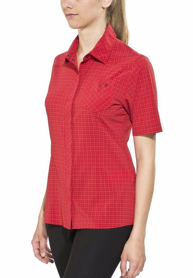Tatonka Bluse »Jonne SS-Shirt Women granat red« in rot