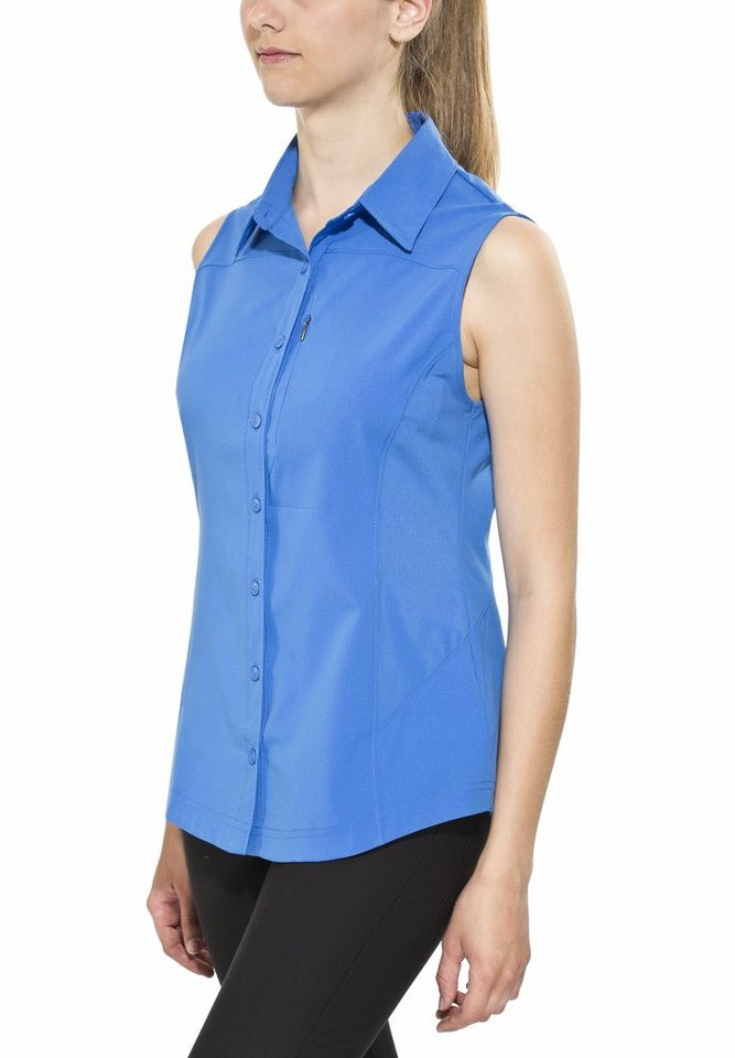 Columbia Bluse »Silver Ridge II Sleeveless Shirt Women« in blau