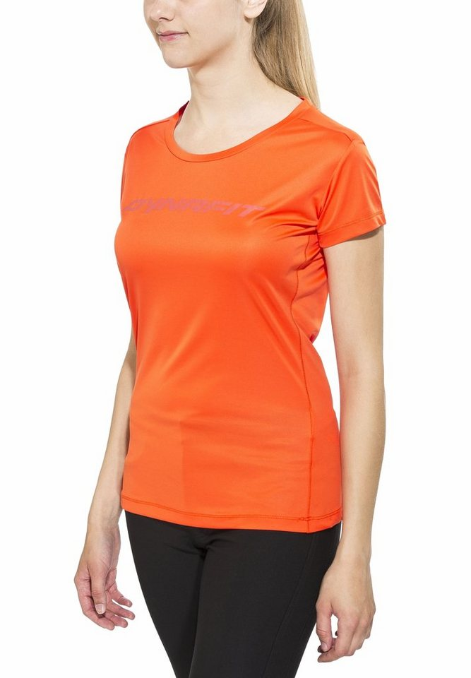Dynafit T-Shirt »Traverse Women S/S Tee« in orange