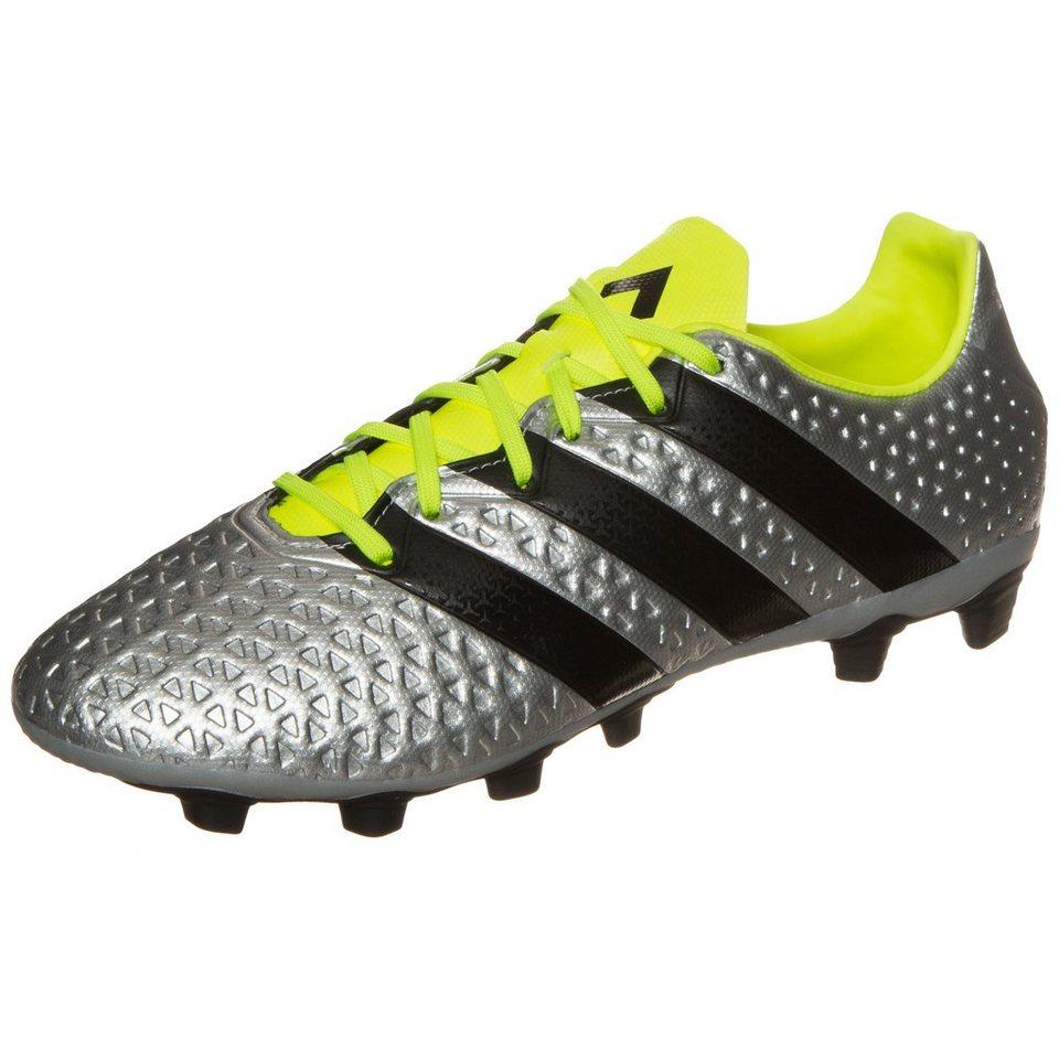 adidas Performance ACE 16.4 FxG Fußballschuh Herren in silber / schwarz
