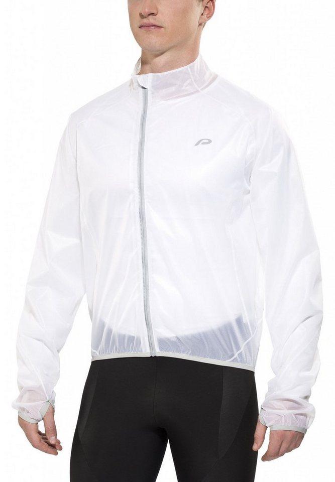 Protective Radjacke »Rain Glow Taped Jacket Men« in weiß
