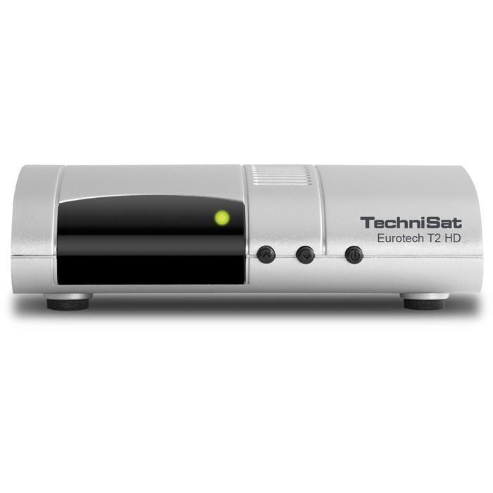 TechniSat DVB-T2 Receiver »Eurotech T2 HD« in silber